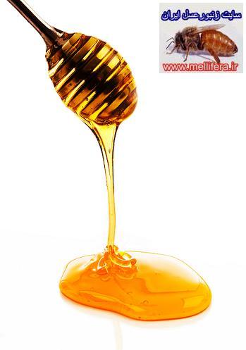 كش امدن عسل طبيعي